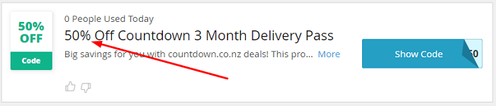 Countdown Auckland city offer2