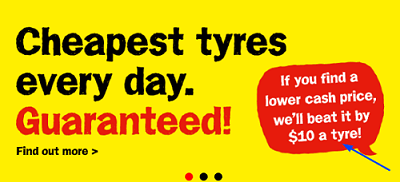 Offers and coupon for Tony's Tyre1