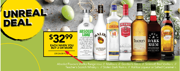 Offers and coupon for liquorland