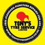 Tony's Tyre hours, phone, locations
