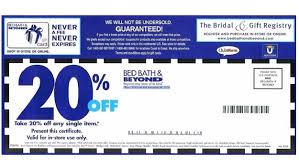 Bed Bath & Beyond offer