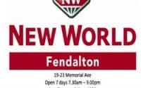 New World in Fendalton