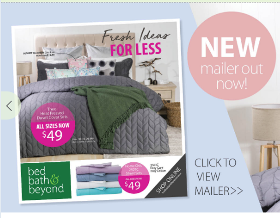 Bed Bath & Beyond offers