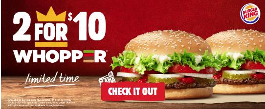 Burger King offer