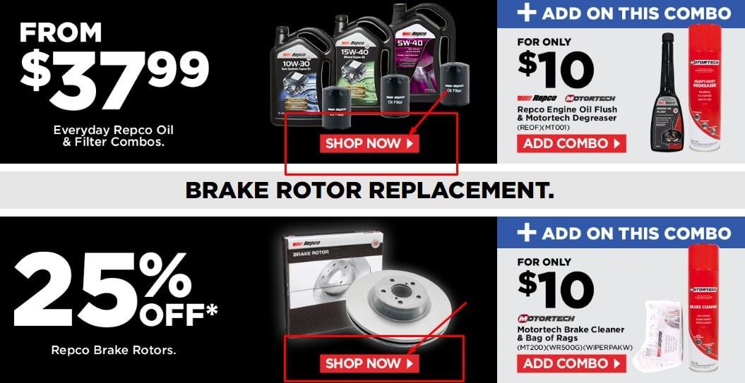 repco offers