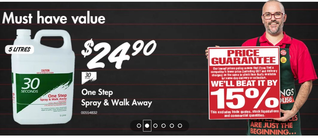 bunnings warehouse offer