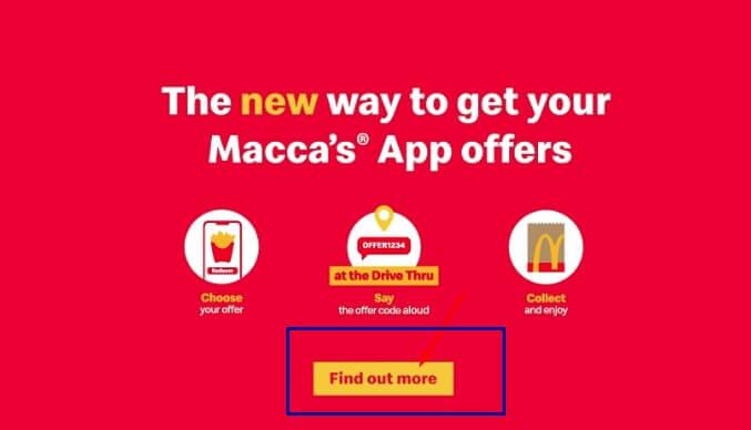 mcdonals offer