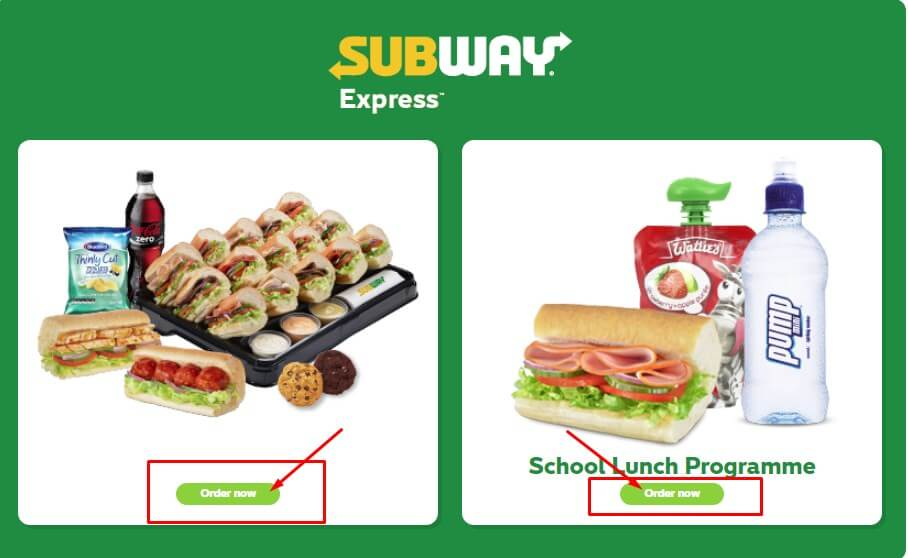 subway offer