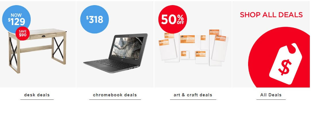 warehouse stationery offer