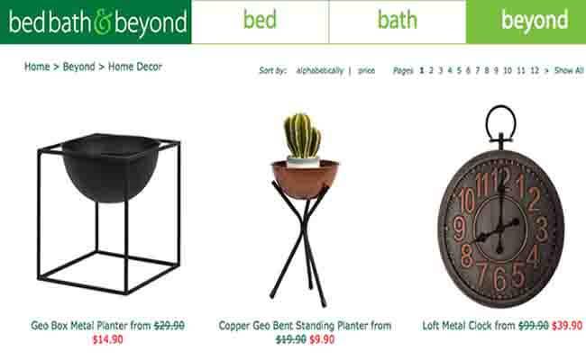bed bath & beyond offer