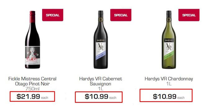 the bottle-o offer