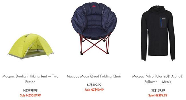 macpac offer